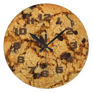 Chocolate Chip Cookie Wallclocks