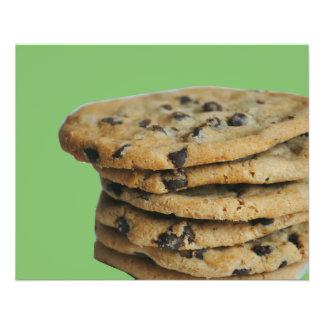 Chocolate Chip Cookies Bake Sale Flyers