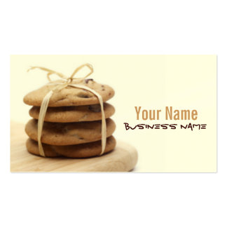 Chocolate Chip Cookies Business Cards