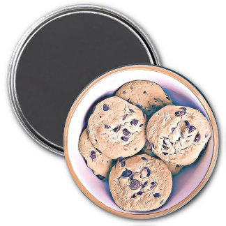 Chocolate Chip Cookies Magnet