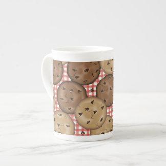 Chocolate Chip Cookies Tea Cup