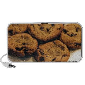 Chocolate chip cookies speaker system