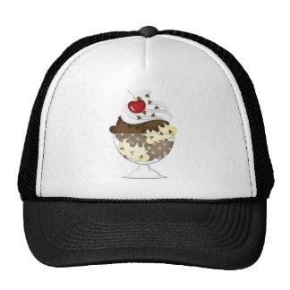 chocolate chip sundae cap