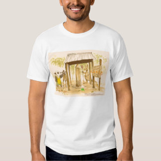 Chocolate coated  Licorice Players  Clear Island W Tshirts