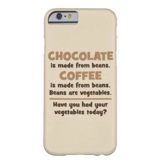 Chocolate, Coffee, Beans, Vegetables - Novelty Barely There iPhone 6 Case