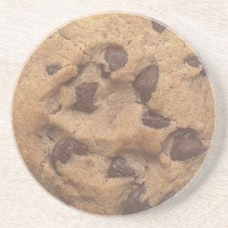 Chocolate cookie coaster