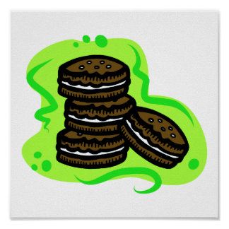 Chocolate Cookies Poster