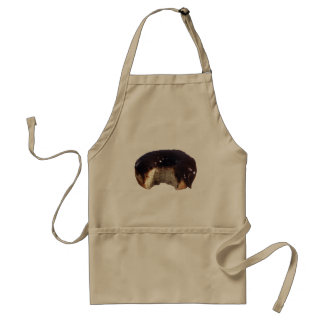 Chocolate Covered Donut Adult Apron