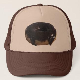Chocolate Covered Donut Trucker Hat
