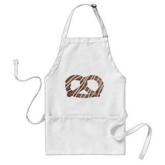 Chocolate Covered Pretzel apron