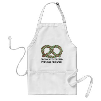 Chocolate Covered Pretzels for sale Aprons