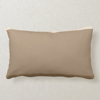 Chocolate Cream Lumbar Cushion