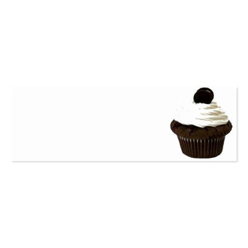 Chocolate Cupcake Business Card Templates