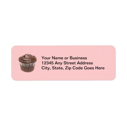 Chocolate Cupcake Custom Name