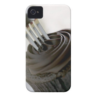 Chocolate cupcake iPhone 4 Case-Mate cases