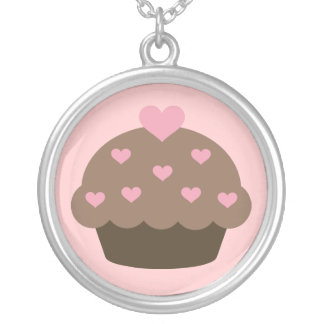 Chocolate Cupcake Love Necklace
