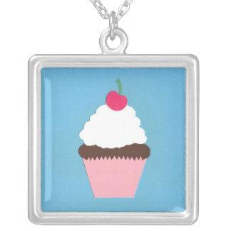 Chocolate Cupcake Necklace