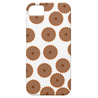 Chocolate Cupcake Pattern. Case For The iPhone 5