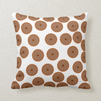 Chocolate Cupcake Pattern. Cushion