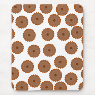 Chocolate Cupcake Pattern. Mouse Pad