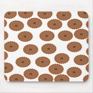 Chocolate Cupcake Pattern. Mousepad