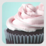 Chocolate Cupcake Pink Vanilla Frosting