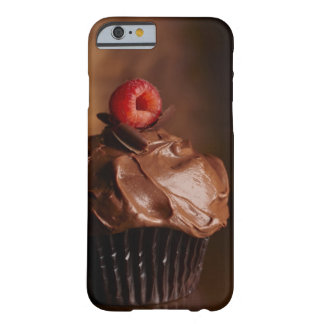 Chocolate Cupcake with a Raspberry topping Barely There iPhone 6 Case