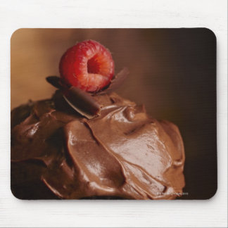 Chocolate Cupcake with a Raspberry topping Mouse Mat