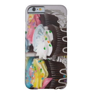 Chocolate cupcakes on a cake stand 2 barely there iPhone 6 case
