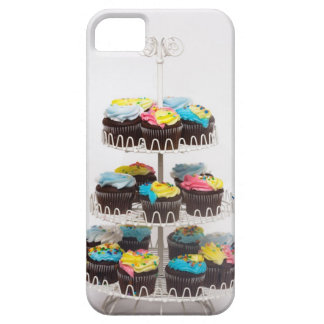 Chocolate cupcakes on a cake stand case for the iPhone 5