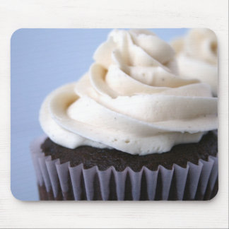 Chocolate Cupcakes Vanilla Frosting Mouse Pad