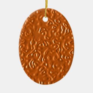 Chocolate Design Ceramic Oval Decoration