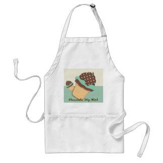 Chocolate Dip Mint Adult Apron