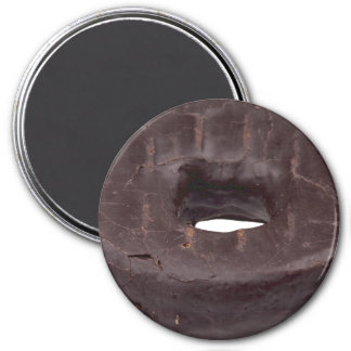 Chocolate Dipped Doughnut 7.5 Cm Round Magnet