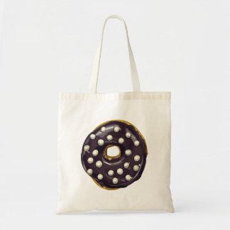 Chocolate Dipped Doughnut. Tote Bag