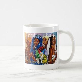 Chocolate Diva's (OES) Classic White Coffee Mug