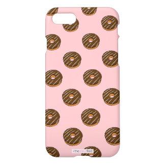 Chocolate donut design phone case