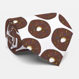 Chocolate Donut Doughnut Foodie Breakfast Food Tie