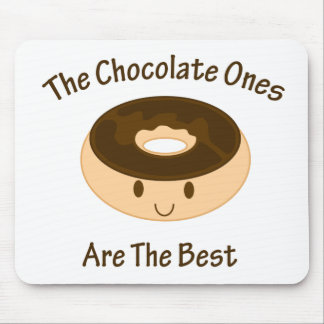 Chocolate Donut Mouse Mat