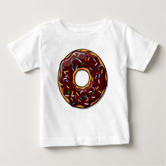 Chocolate Donut with Sprinkles Baby T-Shirt