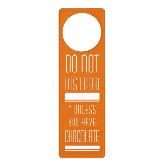Chocolate Door Hanger