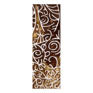 Chocolate Dream Bookmark or Profile Card Business Card
