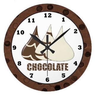 Chocolate Drops sweet treat wall clock