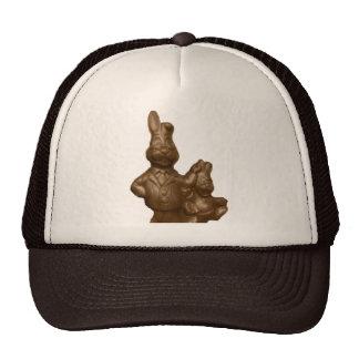 Chocolate Easter Bunnies Cap