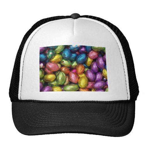 Chocolate Easter Egg Hats