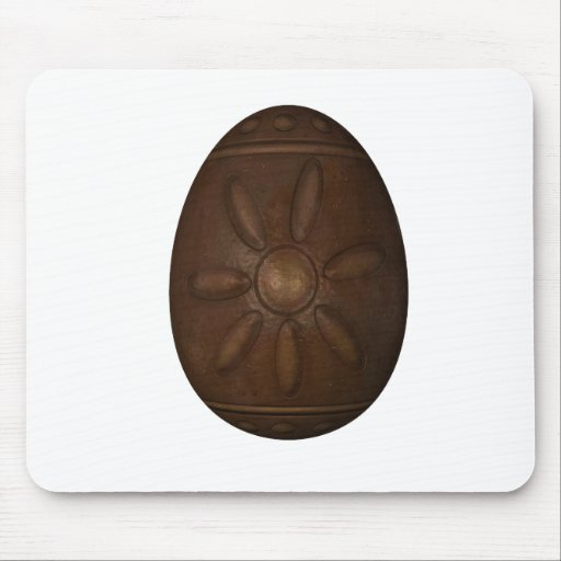Chocolate Easter Egg Mouse Pad