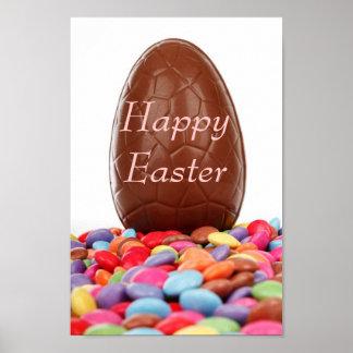 Chocolate Easter Egg Print