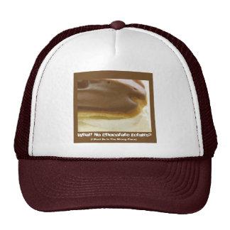 Chocolate Eclair Cap Mesh Hat