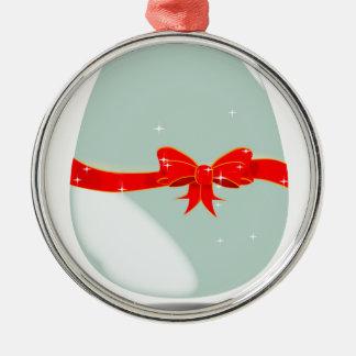 Chocolate Egg Christmas Ornament