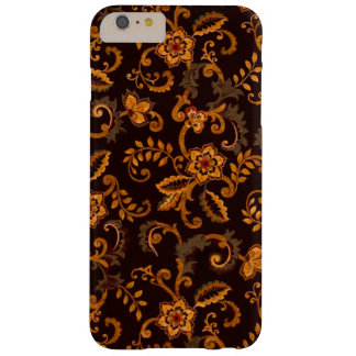 Chocolate Floral iPhone 6/6S Plus Barely There Cas Barely There iPhone 6 Plus Case